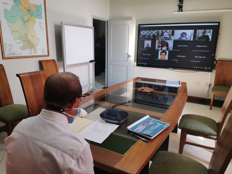 COMANDO COVID REGIONAL INICIO ESTRATEGIAS PARA AFRONTAR LA TERCERA OLA